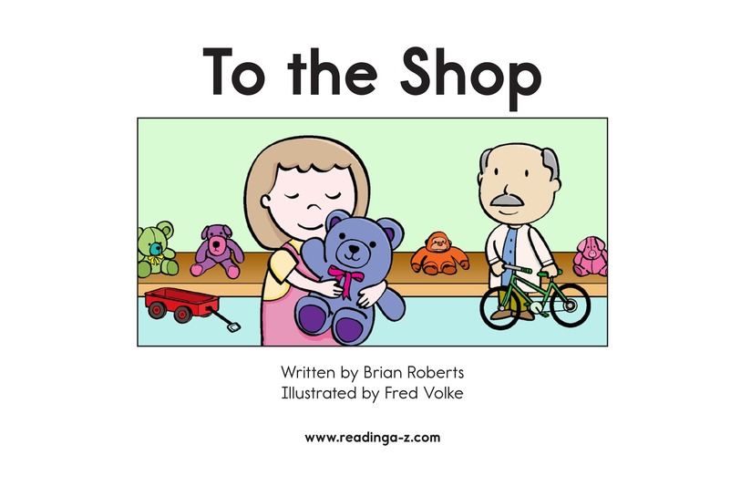 Book Preview For To the Store Page 2