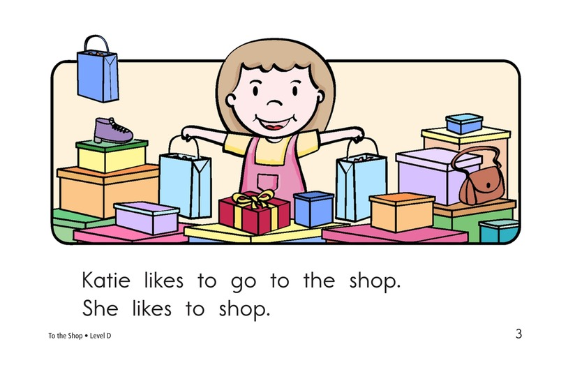 Book Preview For To the Store Page 3
