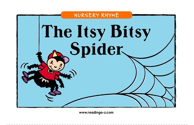 Book Preview For The Itsy Bitsy Spider Page 1