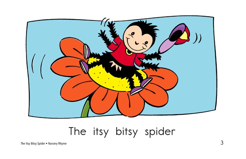 Book Preview For The Itsy Bitsy Spider Page 3