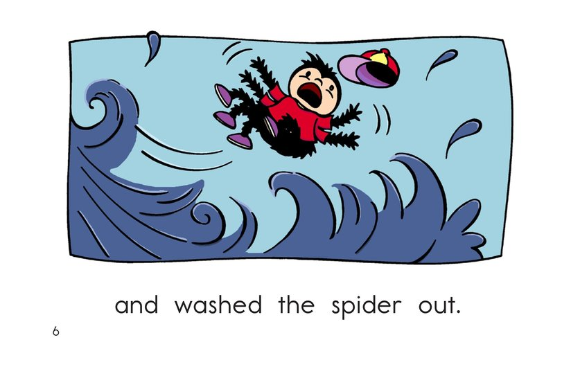 Book Preview For The Itsy Bitsy Spider Page 6