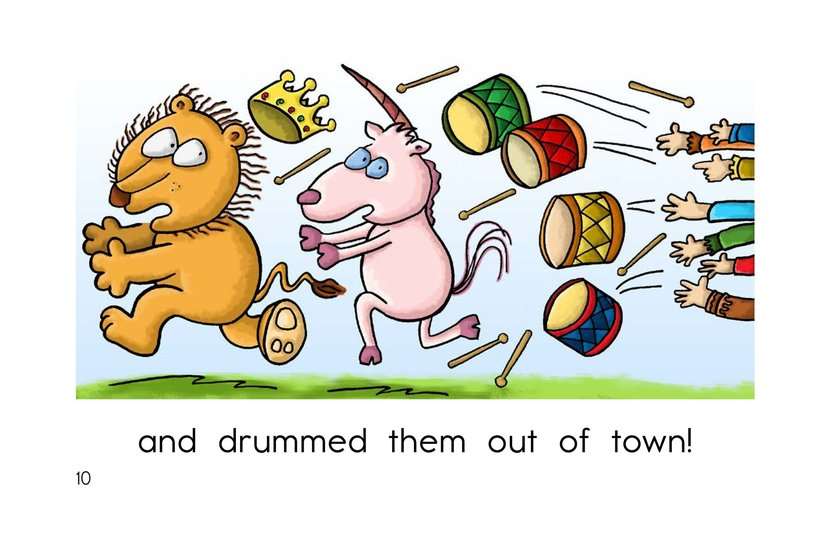 Book Preview For The Lion and the Unicorn Page 10