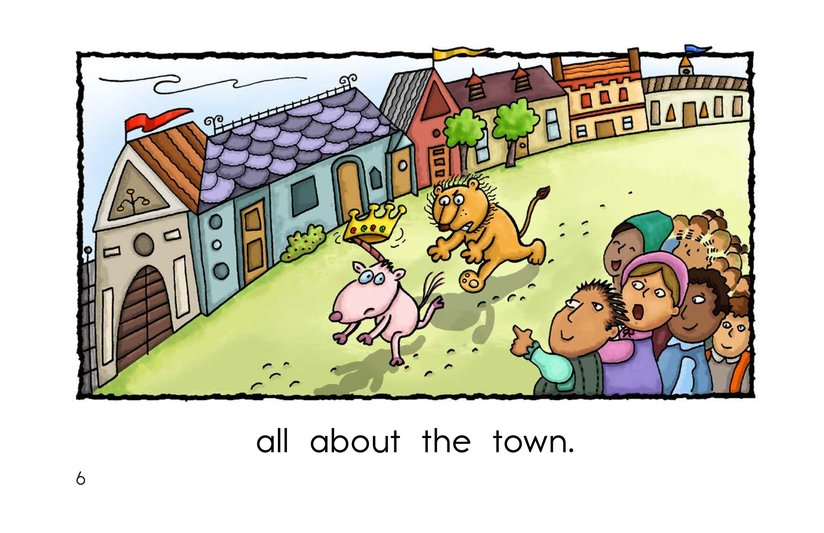 Book Preview For The Lion and the Unicorn Page 6