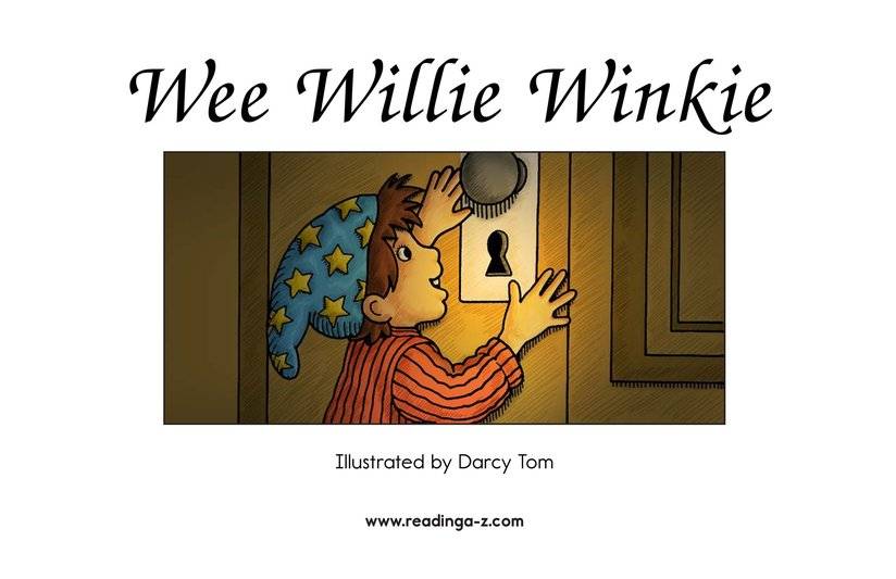 Book Preview For Wee Willie Winkie Page 2