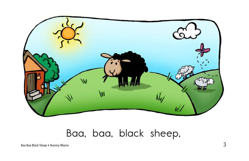 Book Preview For Baa Baa Black Sheep Page 3