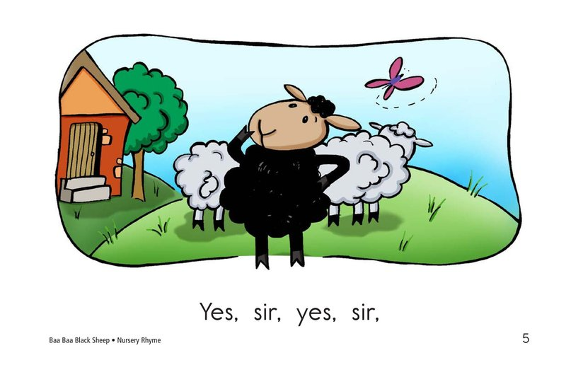 Book Preview For Baa Baa Black Sheep Page 5