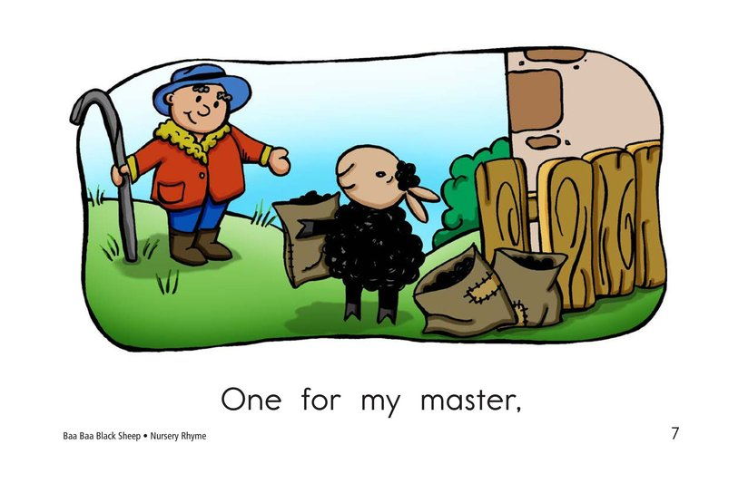 Book Preview For Baa Baa Black Sheep Page 7