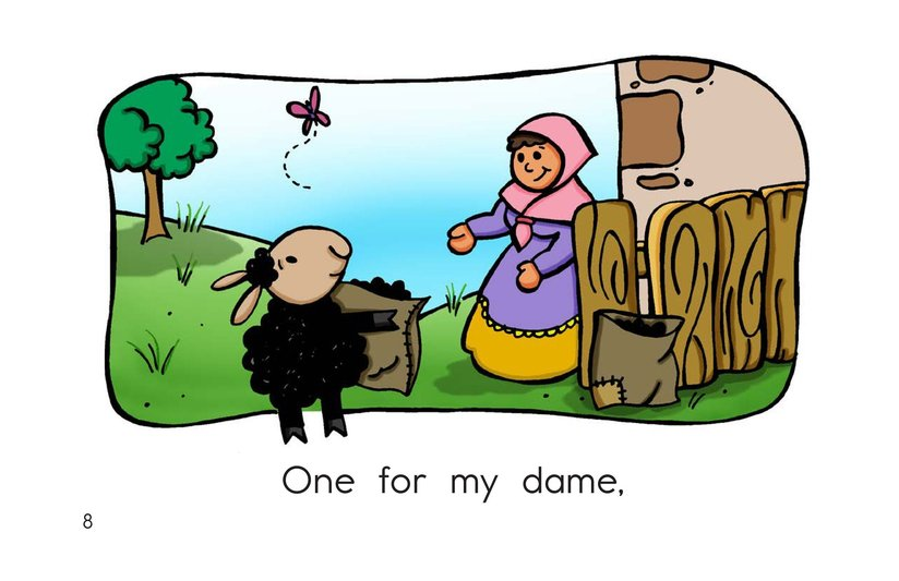 Book Preview For Baa Baa Black Sheep Page 8