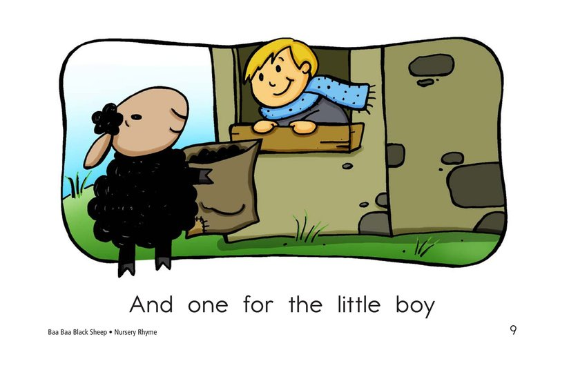 Book Preview For Baa Baa Black Sheep Page 9