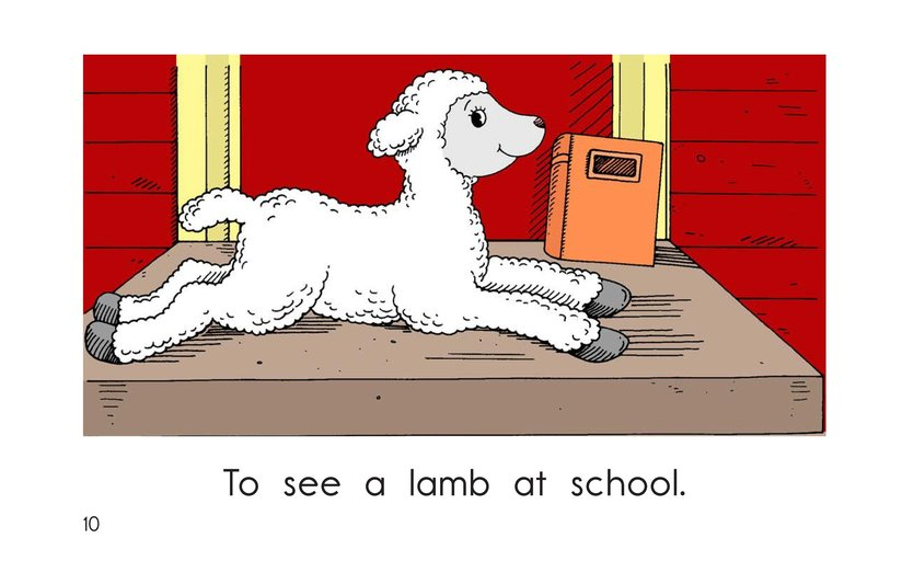 Book Preview For Mary Had a Little Lamb Page 10