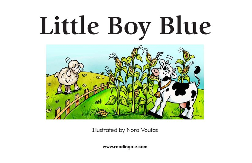Book Preview For Little Boy Blue Page 2