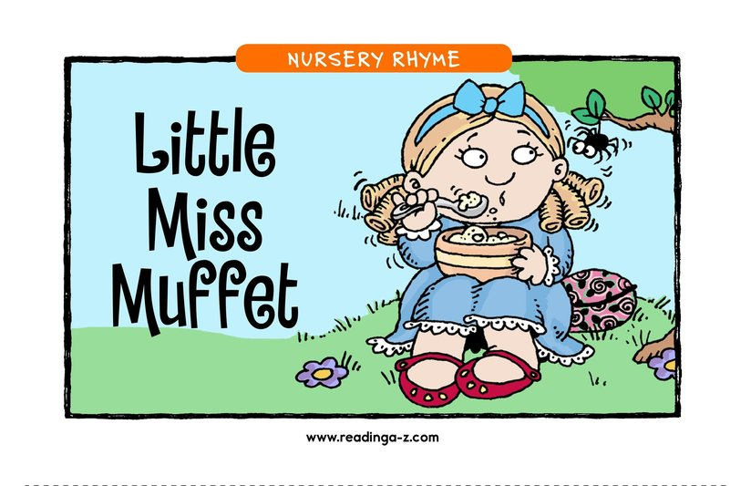 Book Preview For Little Miss Muffet Page 1