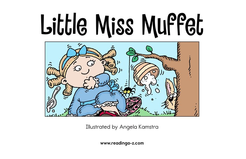 Book Preview For Little Miss Muffet Page 2
