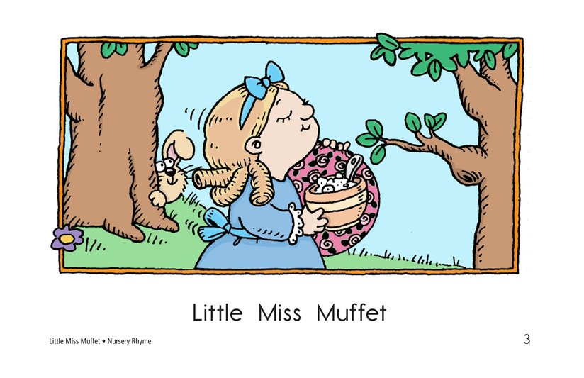 Book Preview For Little Miss Muffet Page 3