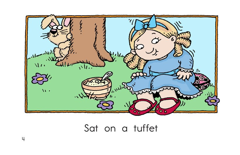 Book Preview For Little Miss Muffet Page 4