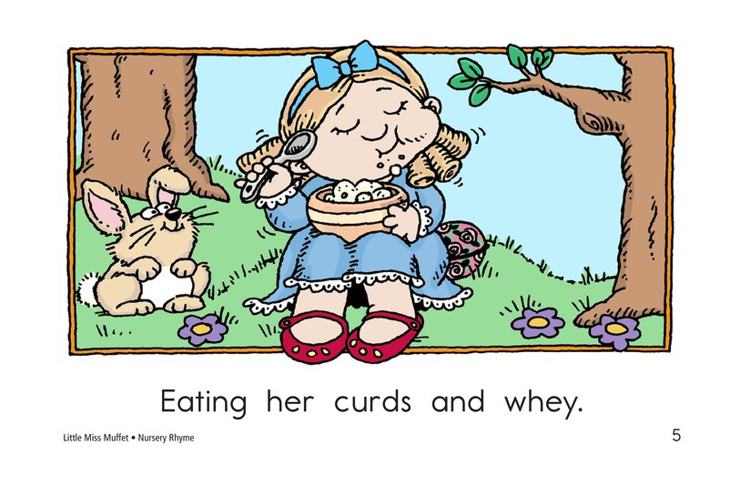 Book Preview For Little Miss Muffet Page 5