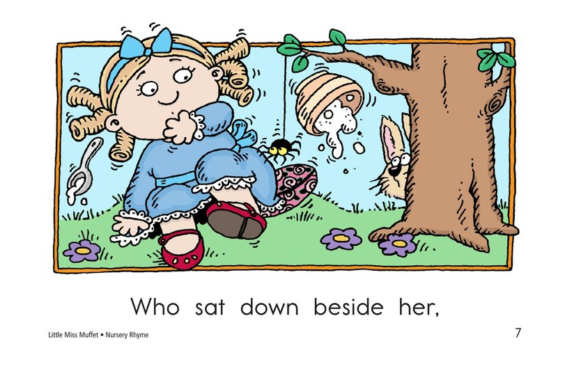Book Preview For Little Miss Muffet Page 7