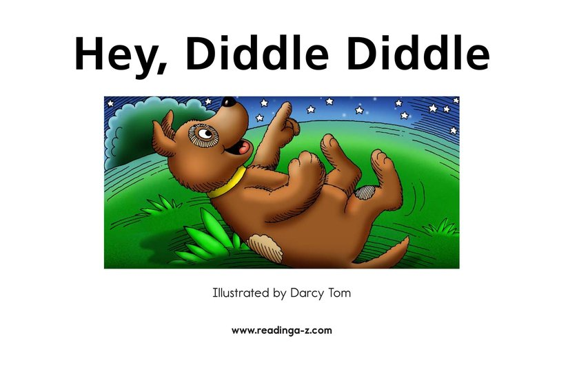 Book Preview For Hey, Diddle Diddle Page 2
