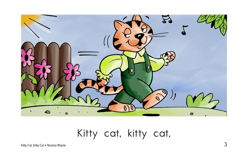 Book Preview For Kitty Cat, Kitty Cat Page 3