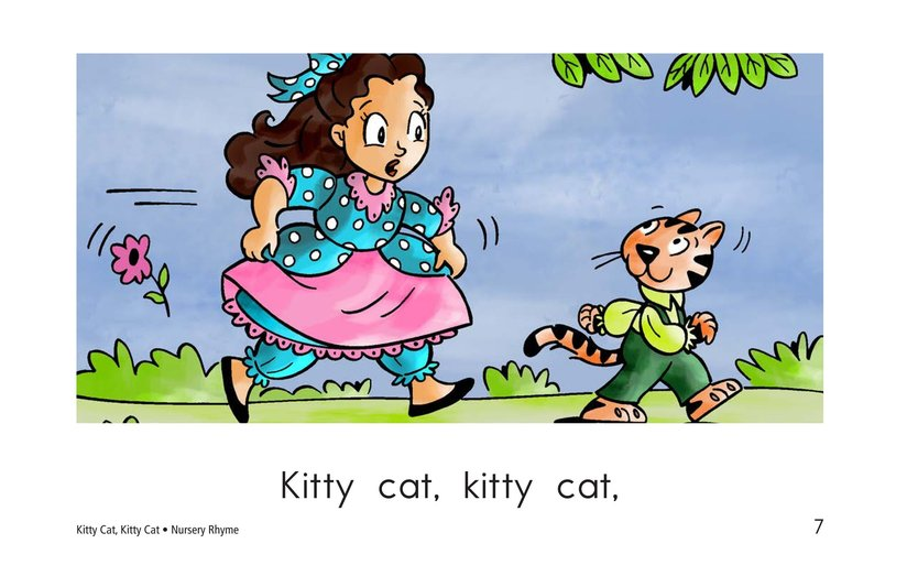 Book Preview For Kitty Cat, Kitty Cat Page 7