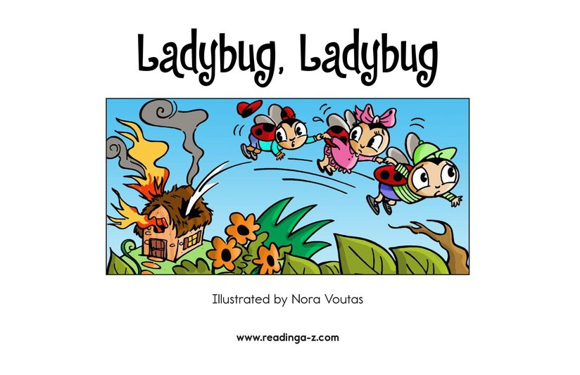 Book Preview For Ladybug, Ladybug Page 2