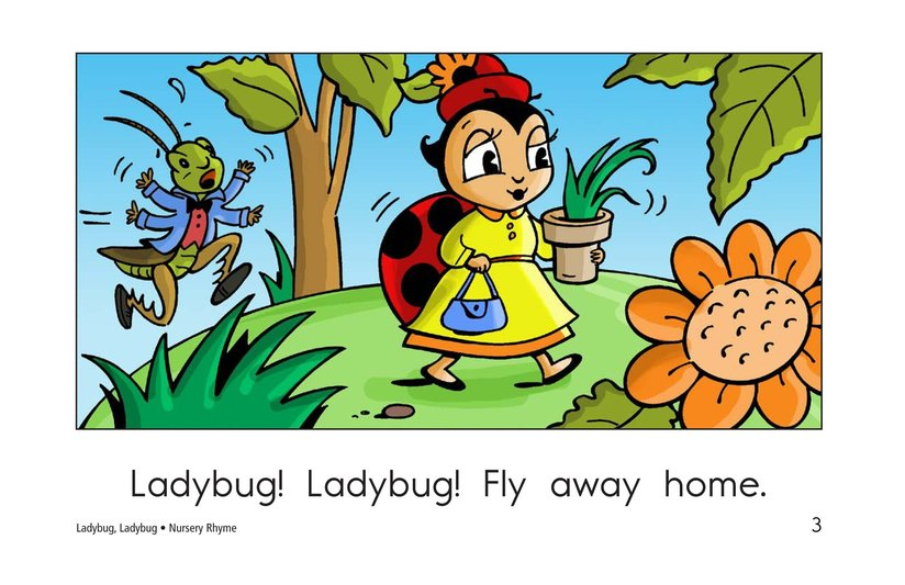 Book Preview For Ladybug, Ladybug Page 3