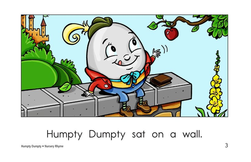 Book Preview For Humpty Dumpty Page 3