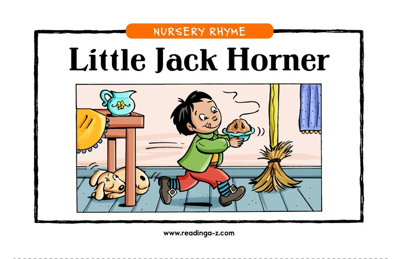 Book Preview For Little Jack Horner Page 1