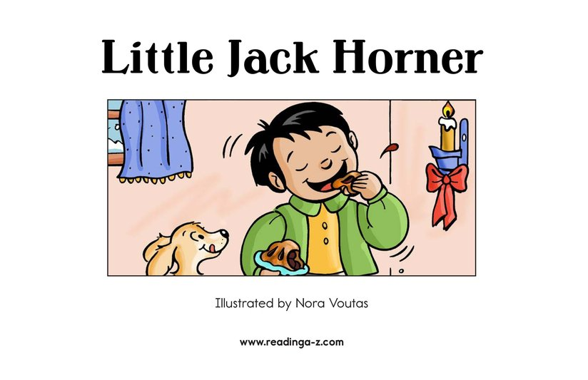 Book Preview For Little Jack Horner Page 2