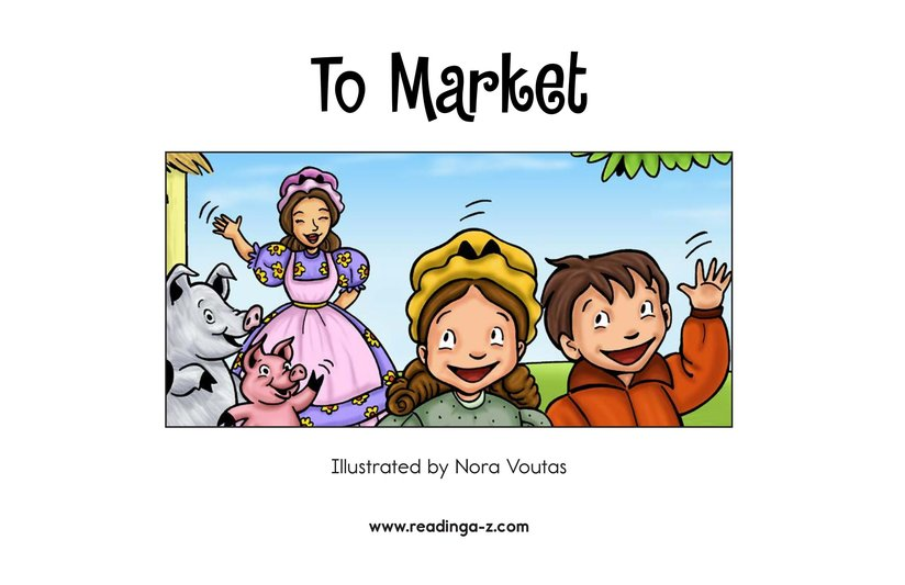 Book Preview For To Market Page 2