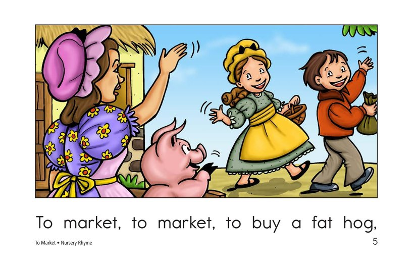 Book Preview For To Market Page 5