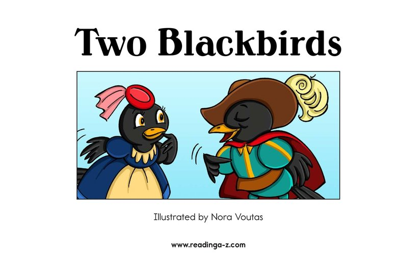 Book Preview For Two Blackbirds Page 2