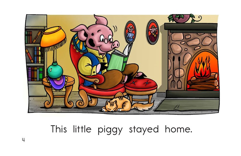 Book Preview For This Little Piggy Page 4