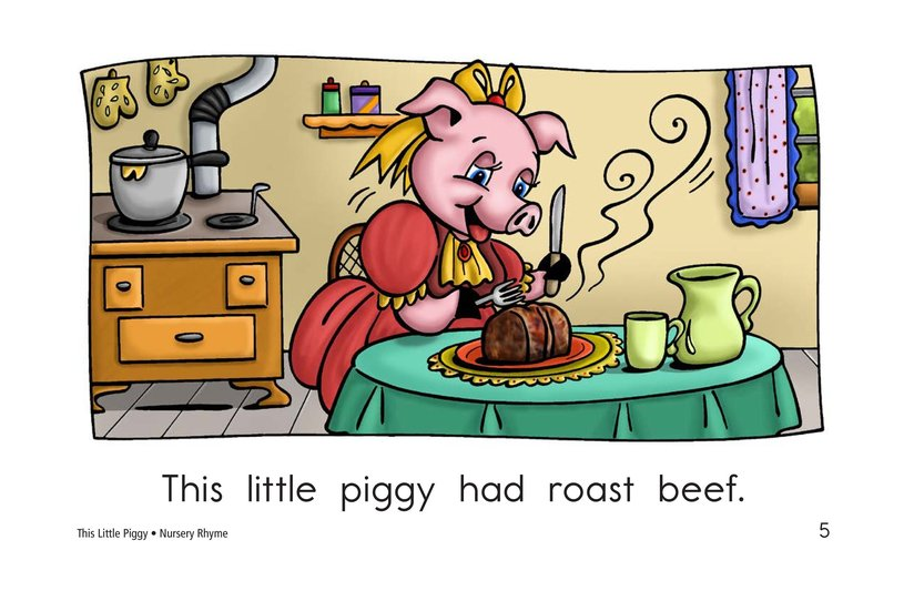 Book Preview For This Little Piggy Page 5