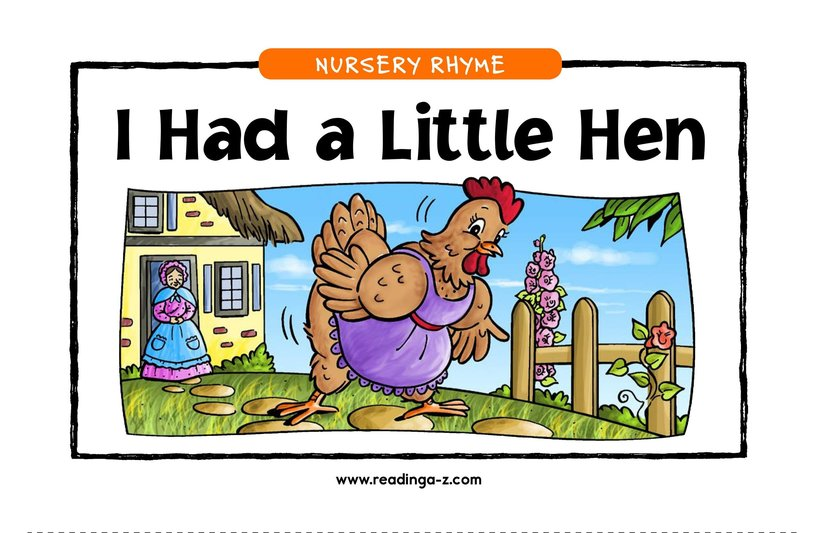 Book Preview For I Had a Little Hen Page 1