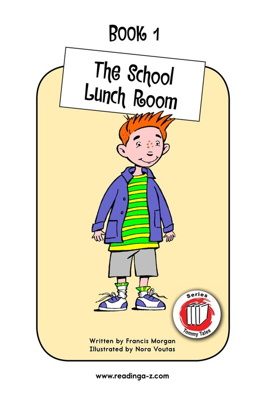 Book Preview For The School Lunch Room Page 1
