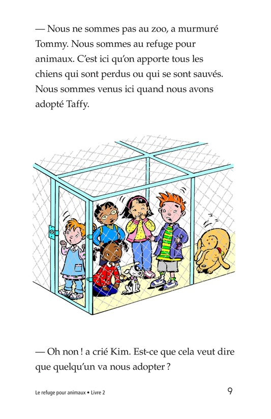 Book Preview For The Animal Shelter Page 9