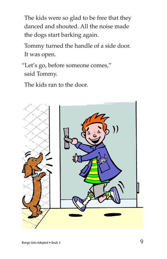 Book Preview For Bongo Gets Adopted Page 9