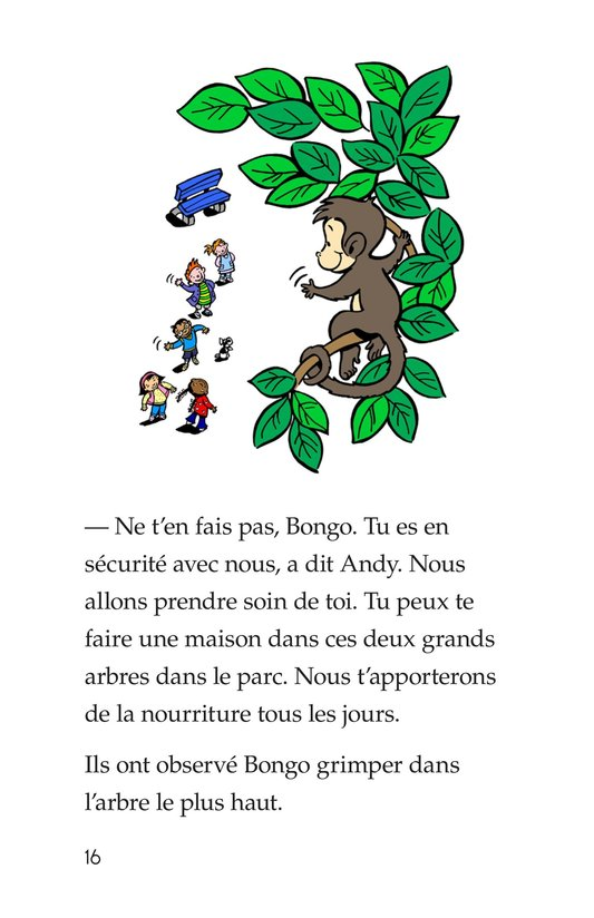 Book Preview For Bongo Gets Adopted Page 16