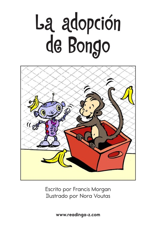 Book Preview For Bongo Gets Adopted Page 2