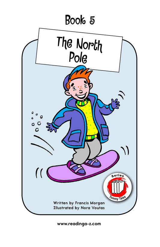 Book Preview For The North Pole Page 1