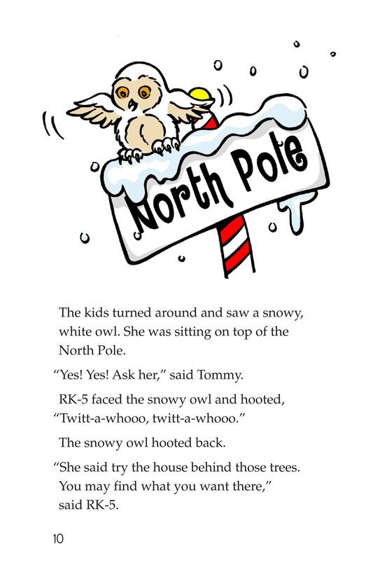 Book Preview For The North Pole Page 10