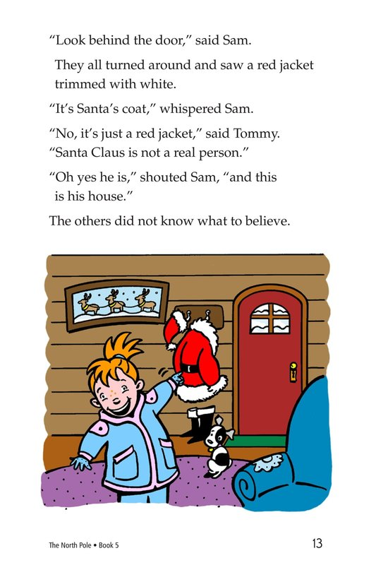 Book Preview For The North Pole Page 13
