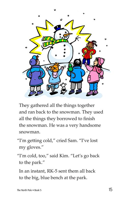Book Preview For The North Pole Page 15