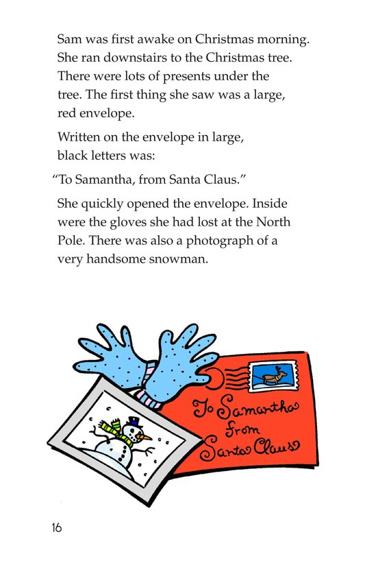 Book Preview For The North Pole Page 16