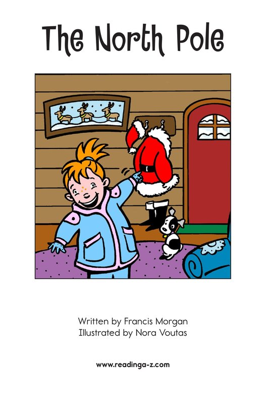 Book Preview For The North Pole Page 2
