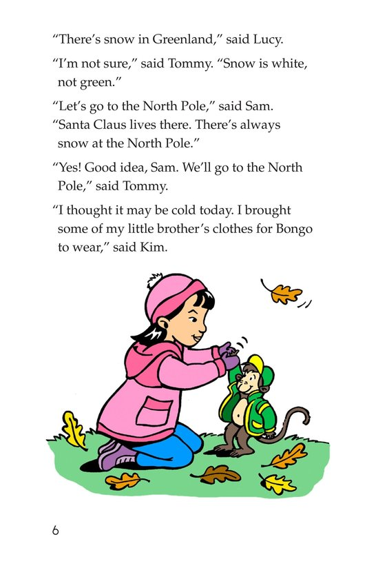 Book Preview For The North Pole Page 6
