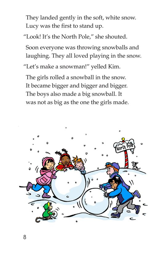 Book Preview For The North Pole Page 8
