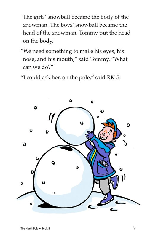 Book Preview For The North Pole Page 9