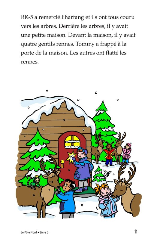 Book Preview For The North Pole Page 11